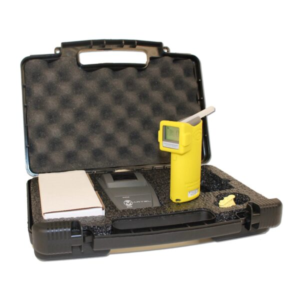 Intoximeter Alco-Sensor FST Breathalyser With Printer In a case