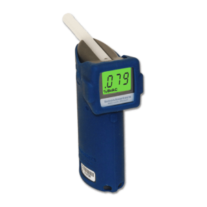 Direct breath test on the Intoximeter Alco Sensor FST Breathalyser