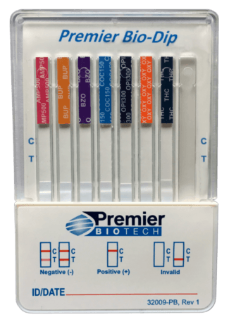 ITS Test Kits Multi drug panel urine test dip cassette